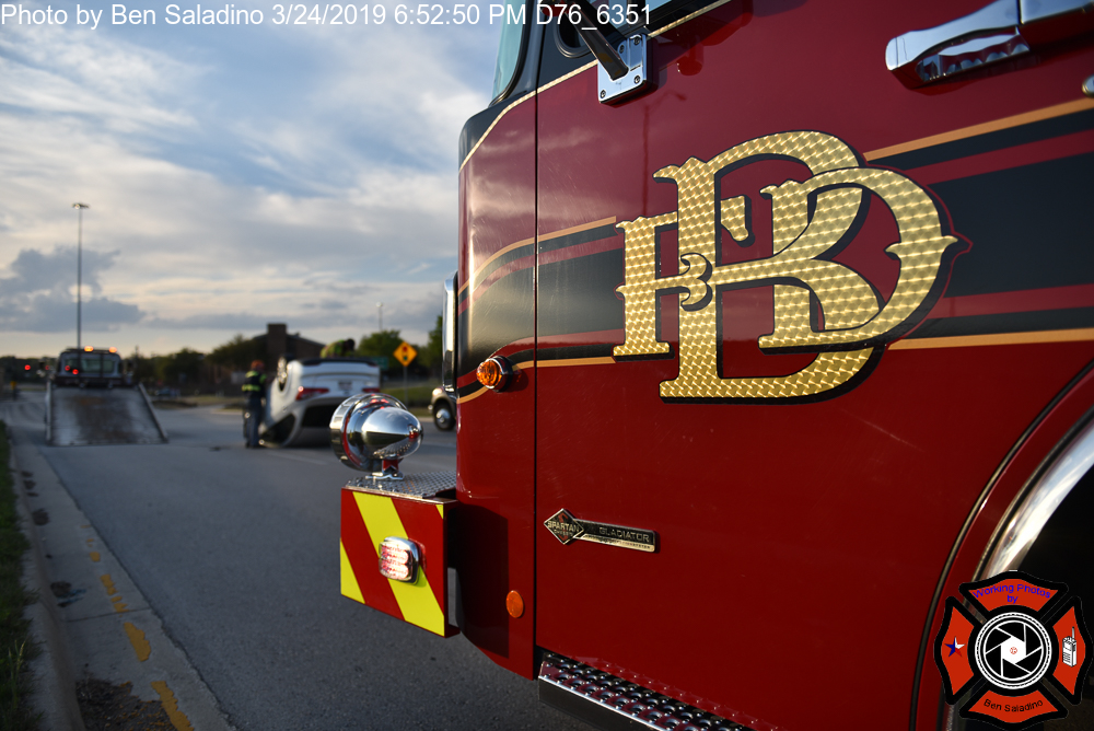 Bedford – Rollover Accident – Working Photos by Ben Saladino